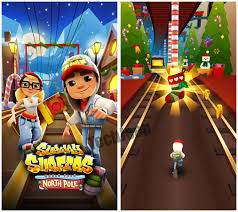 Subway Surfers jeu de plate-forme de type endless