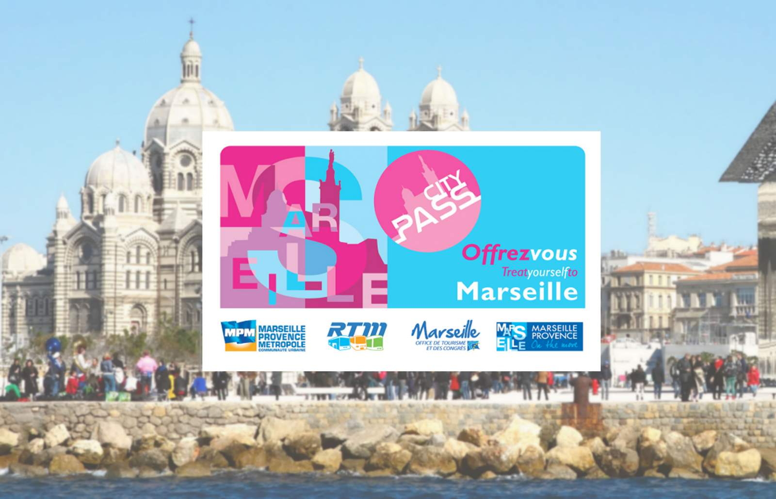 Application android CityPass Marseille pour les touristes